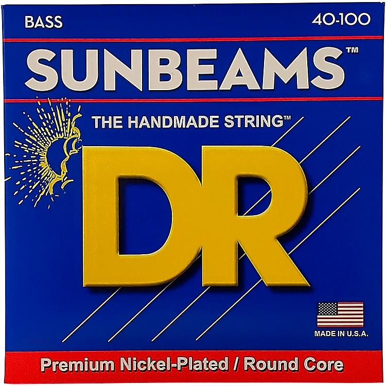 DR StringsSunbeams NLR-40 Light 4-String Bass Strings