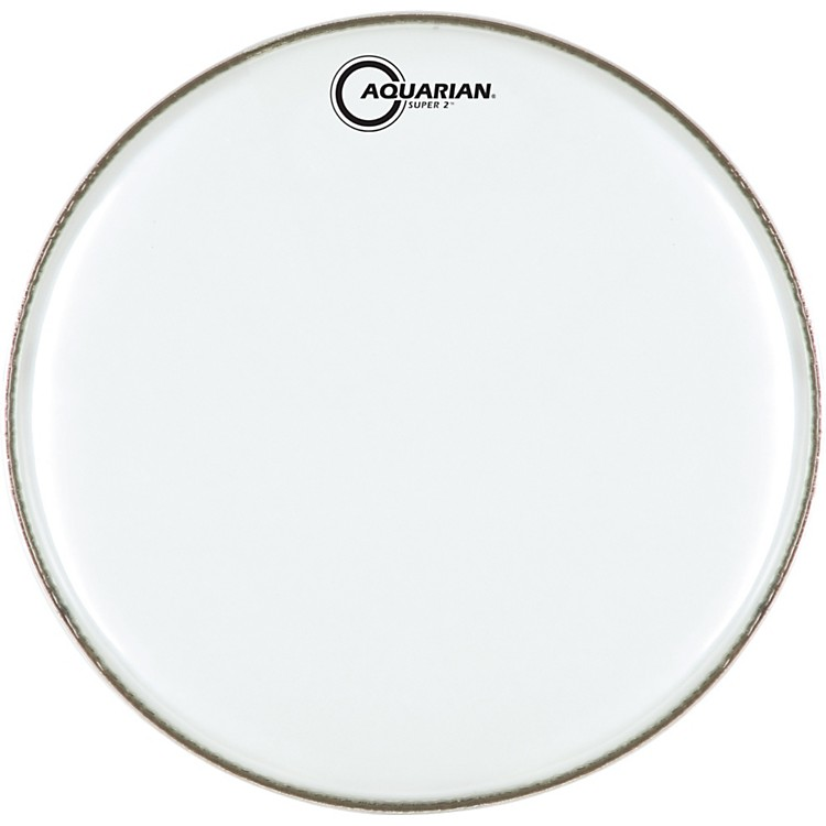 Aquarian Super-2 Clear Drumhead 16 in.