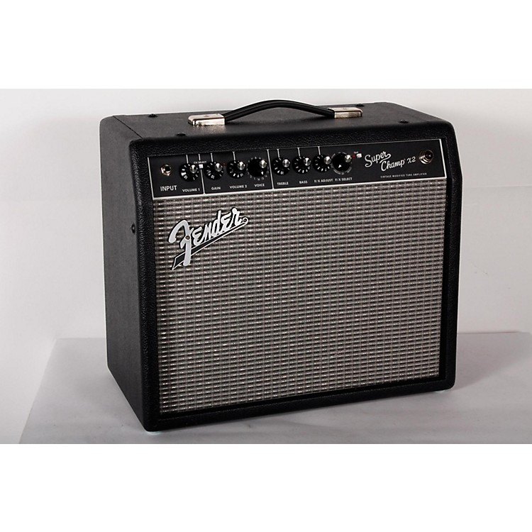 FenderSuper-Champ X2 15W 1x10 Tube Guitar Combo AmpBlack888365915821