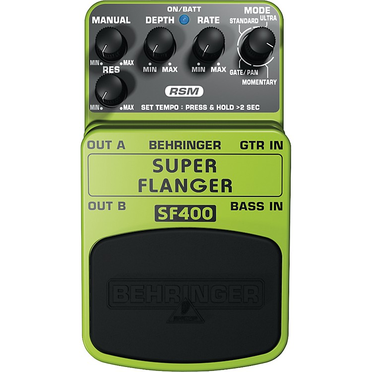 BehringerSuper Flanger SF400 Guitar Effects Pedal