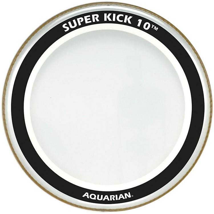 AquarianSuper-Kick 10 Bass DrumheadClear26 in.