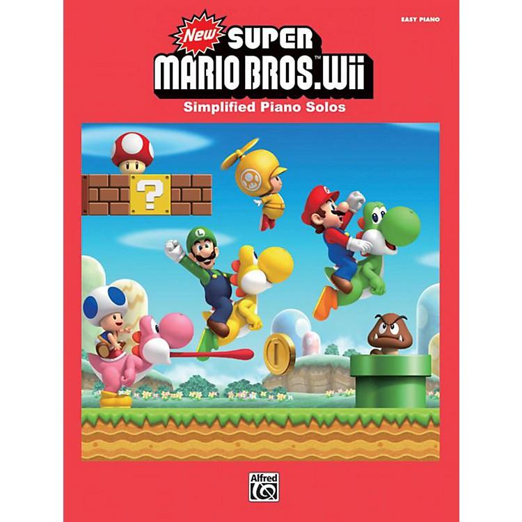 AlfredSuper Mario Bros. Wii Easy Piano Book