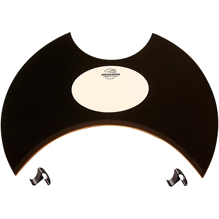 Aquarian Super-Pad Low Volume Bass Drumsurface 22 in.