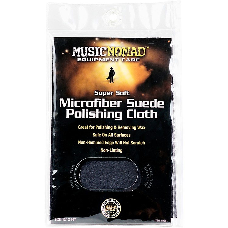 Music NomadSuper Soft Edgeless Microfiber Suede Polishing Cloth