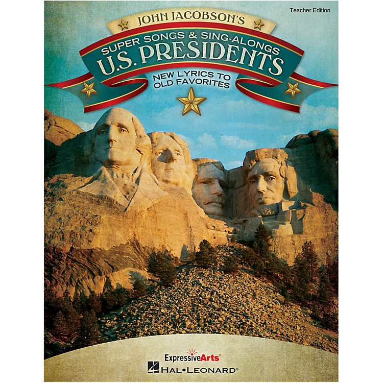 Hal Leonard Super Songs And Sing-Alongs: U.S. Presidents - New Lyrics to Old Favorites Perf/Acc CD