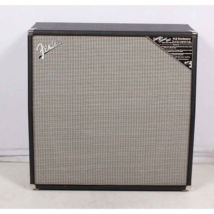 FenderSuper-Sonic 100 412 4x12 Guitar Speaker CabinetBlack886830429521