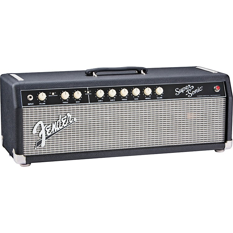 Fender Super-Sonic 60 60W Tube Guitar Amp Head