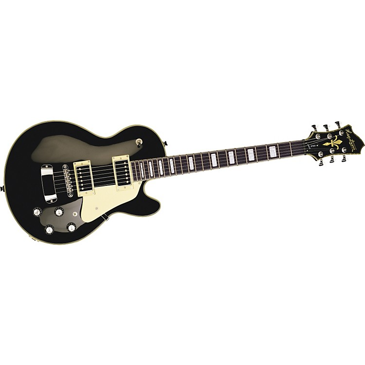 Hagstrom Super Swede Electric Guitar Black
