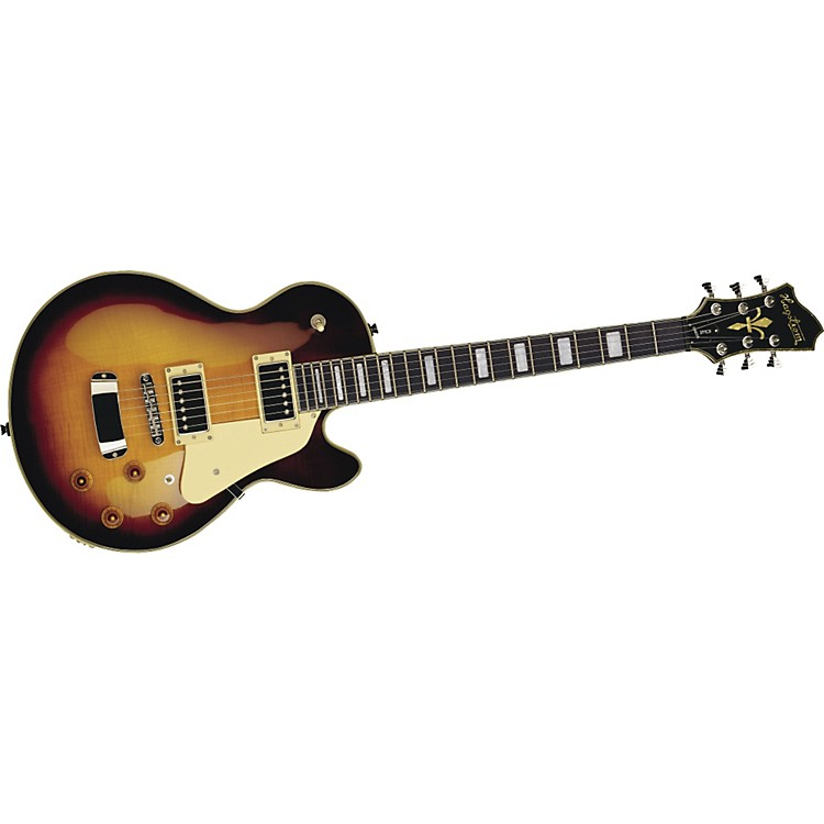 Hagstrom Super Swede Electric Guitar Vintage Sunburst