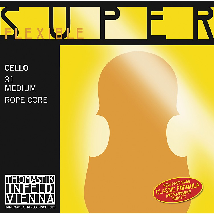 Thomastik Superflexible 4/4 Size Cello Strings 4/4 C String