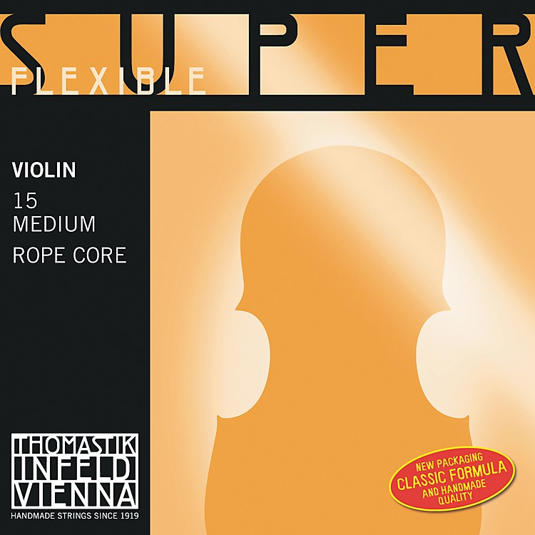 ThomastikSuperflexible 4/4 Size Violin Strings4/4G String