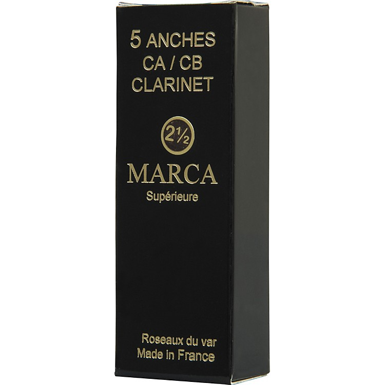 Marca Superieure Bass Saxophone Reeds Strength 2.5