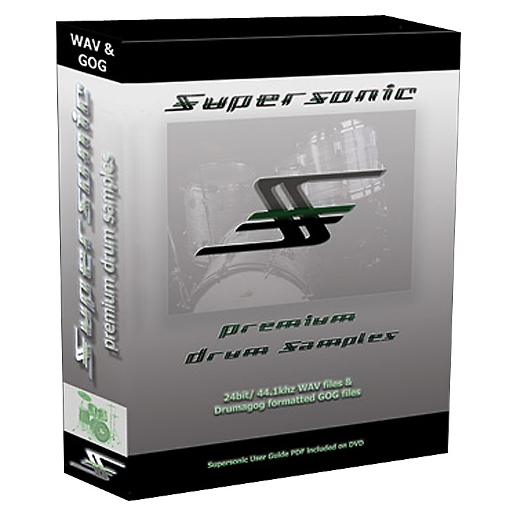 Wave Machine LabsSupersonic Samples for Drumagog