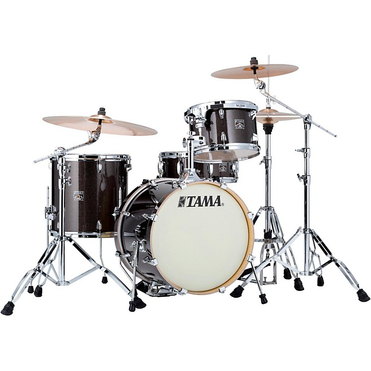 Tama Superstar Classic 4-Piece Jazz Shell Pack Midnight Gold Sparkle