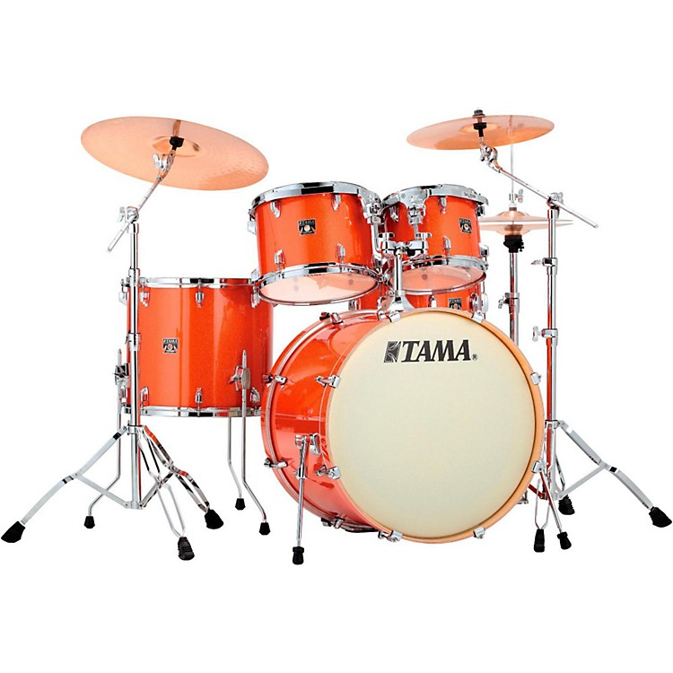 Tama Superstar Classic 5-Piece Shell Pack Bright Orange Sparkle
