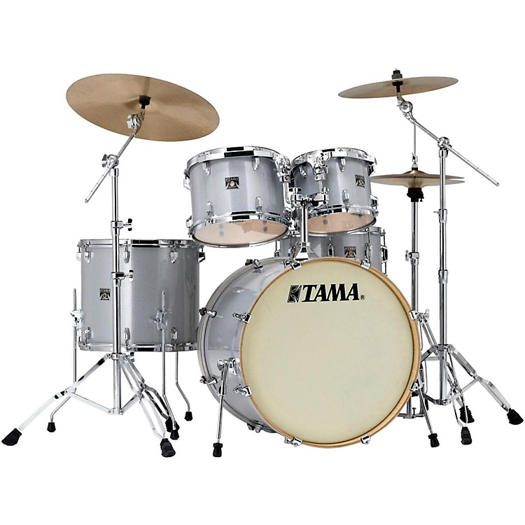 Tama Superstar Classic 5-Piece Shell Pack White Sparkle Finish