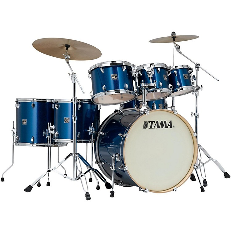 Tama Superstar Classic 7-Piece Shell Pack Indigo Sparkle