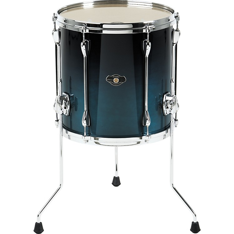 Tama Superstar Custom Floor Tom Custom Ocean Fade 14 x 14 in.