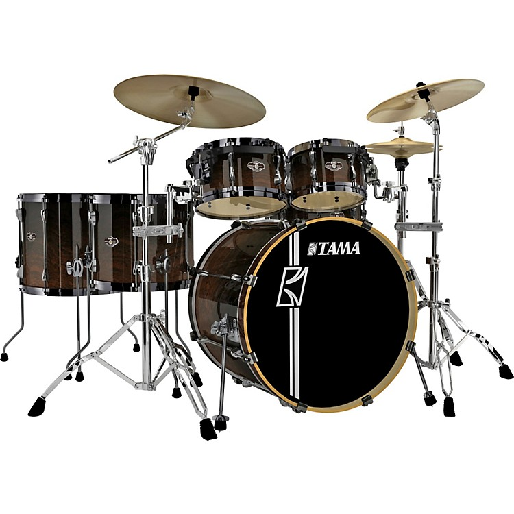 Tama Superstar Hyper-Drive SL 6-Piece Shell Pack Dark Mocha Fade