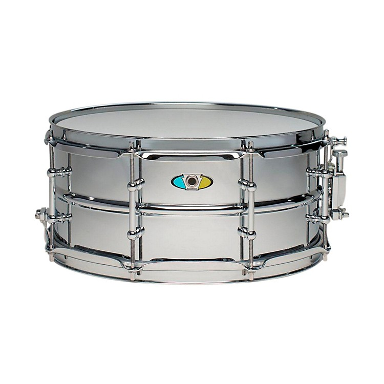 Ludwig Supralite Steel Snare Drum 13x6 Inch