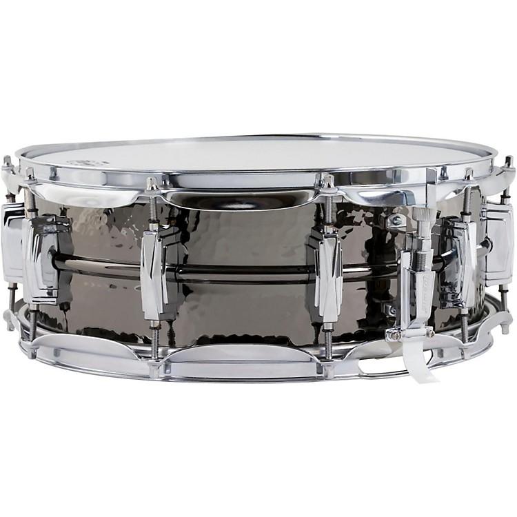 LudwigSupraphonic Black Beauty Hammered Snare Drum5X14