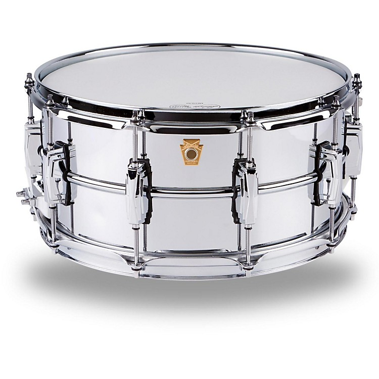 LudwigSupraphonic Snare DrumBrass6.5X14 Inches