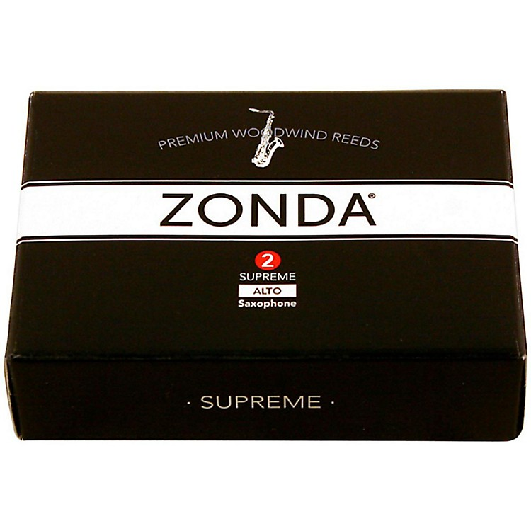 Zonda Supreme Alto Saxophone Reed Strength 2 Box of 5