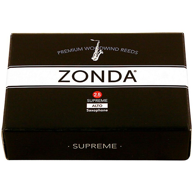 Zonda Supreme Alto Saxophone Reed Strength 2.5 Box of 5
