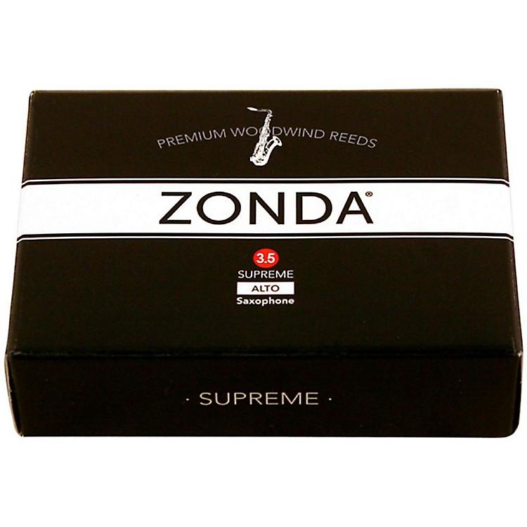 ZondaSupreme Alto Saxophone ReedStrength 3.5Box of 5