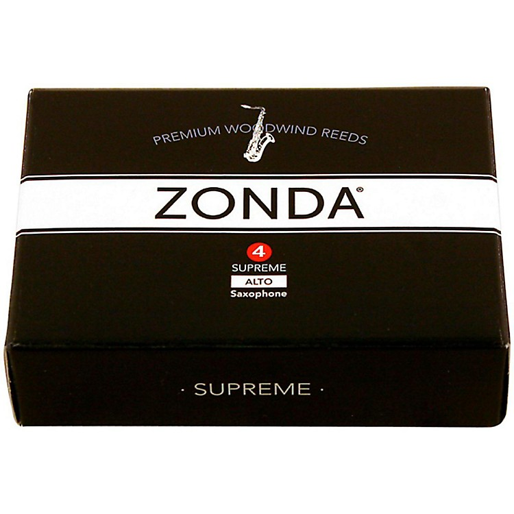 Zonda Supreme Alto Saxophone Reed Strength 4 Box of 5