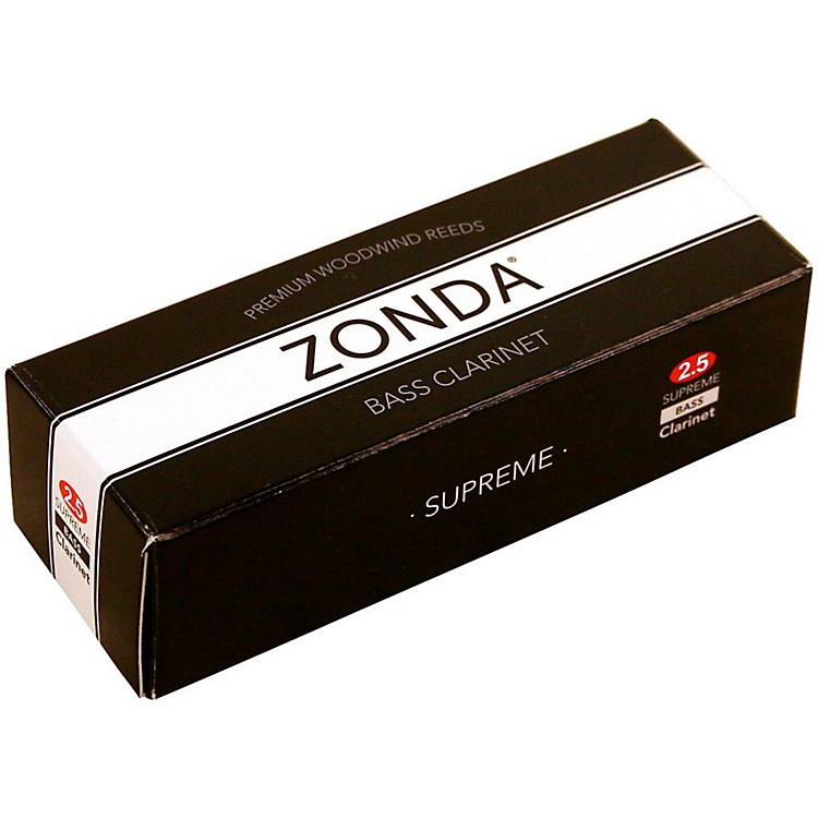 ZondaSupreme Bass Clarinet ReedStrength 2.5Box of 5