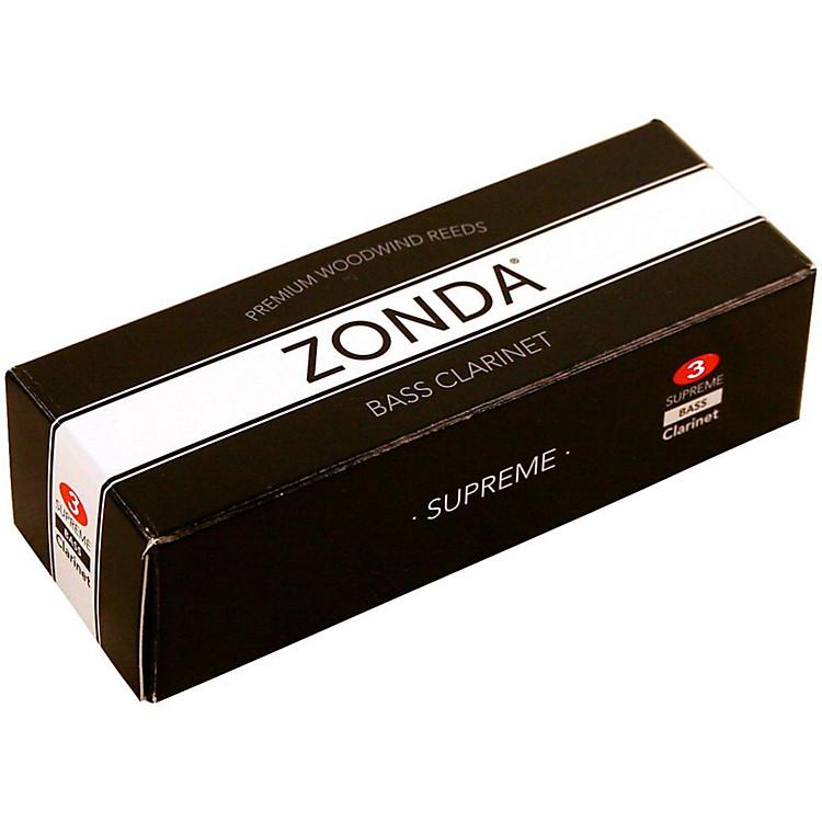 ZondaSupreme Bass Clarinet ReedStrength 3Box of 5