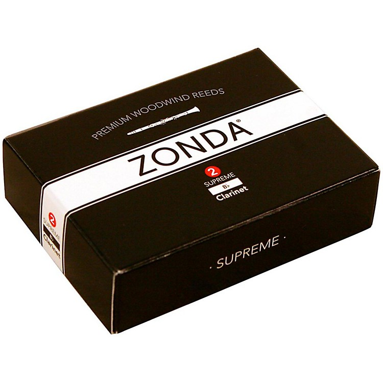 Zonda Supreme Bb Clarinet Reed Strength 2 Box of 5
