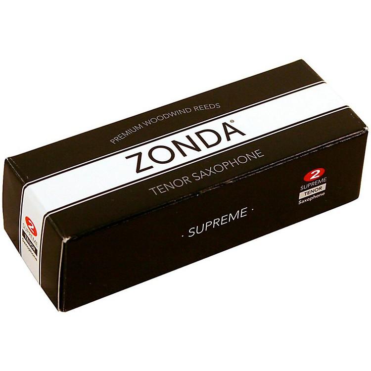 ZondaSupreme Tenor Saxophone ReedStrength 2Box of 5