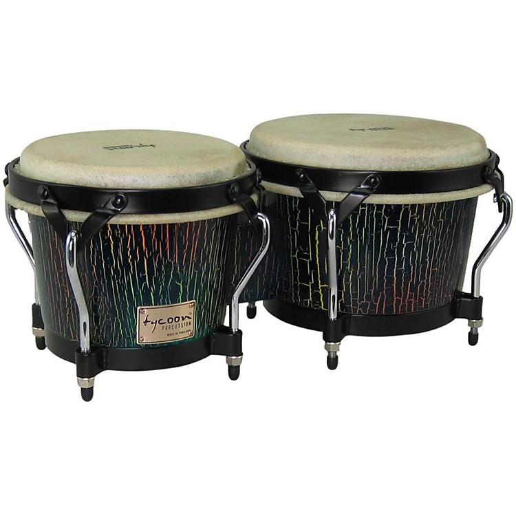 Tycoon PercussionSupremo Select Series Bongos7 and 8 1/2 in.Dark Iris Finish