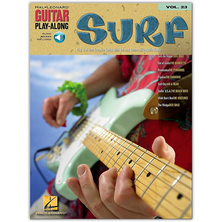 Hal Leonard Surf Guitar Play-Along Series Volume 23 Book with CD