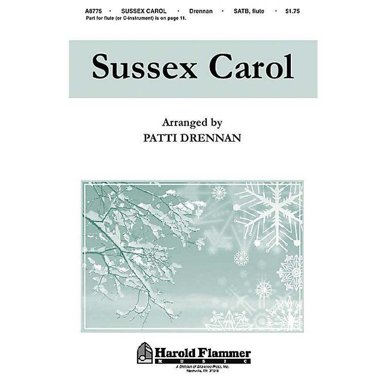 Hal LeonardSussex Carol SATB