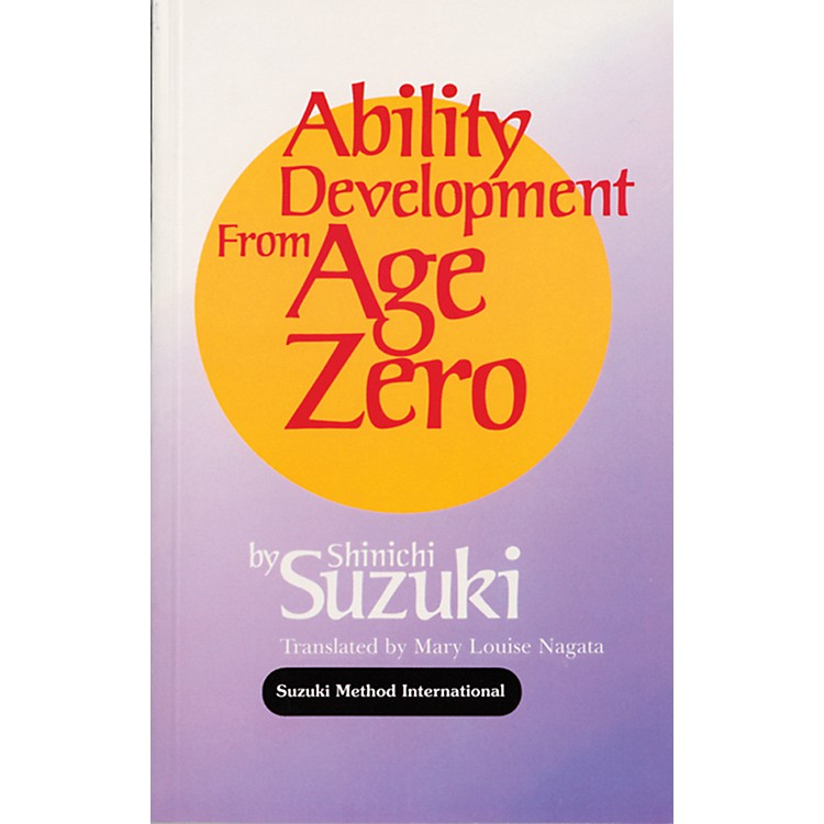 Alfred Suzuki Ability Development from Age Zero (Book)