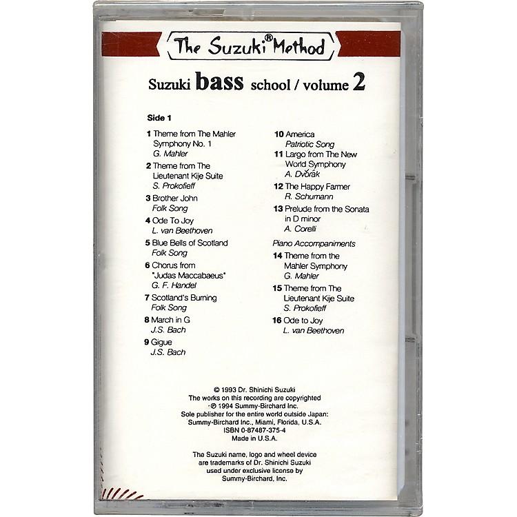 AlfredSuzuki Bass School Cassette Volume 2