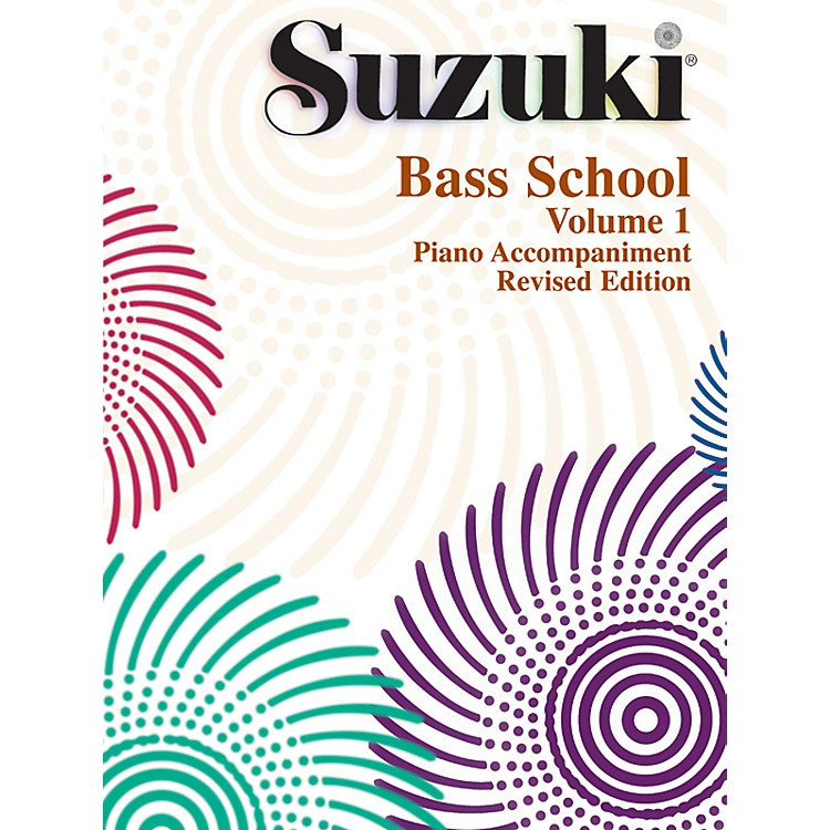 Alfred Suzuki Bass School Piano Accompaniments Volume 1