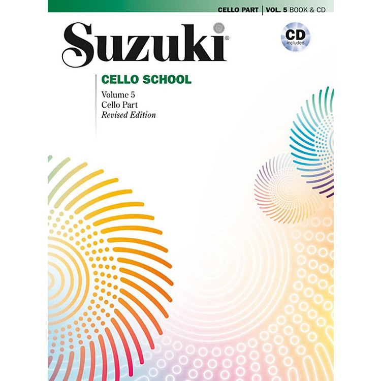 SuzukiSuzuki Cello School Cello Part & CD, Volume 5 Book & CD (Revised)