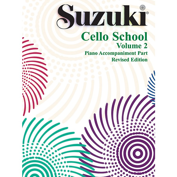 Alfred Suzuki Cello School Piano Accompaniment Volume 2 Book