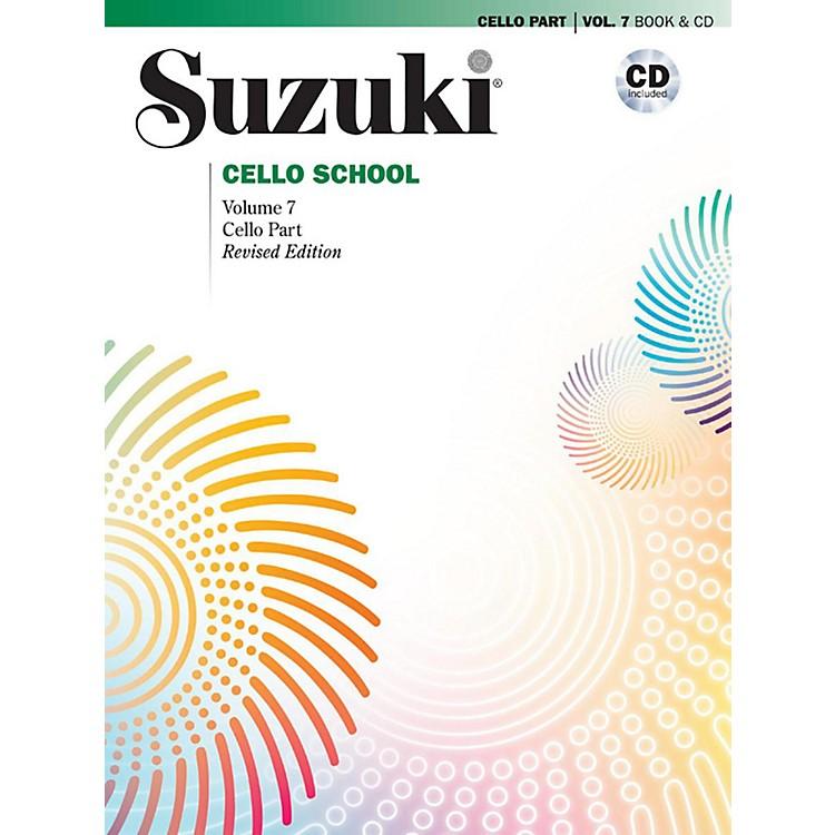 AlfredSuzuki Cello School Volume 7 Book & CD (Revised)