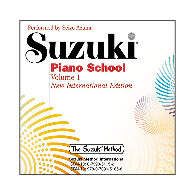 Suzuki Suzuki Piano School New International Edition CD Volume 1