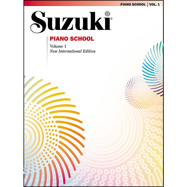 Suzuki Suzuki Piano School New International Edition Piano Book Volume 1