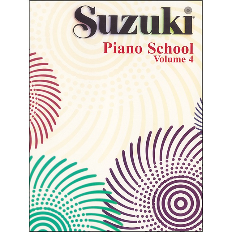Suzuki Suzuki Piano School Piano Book Volume 4