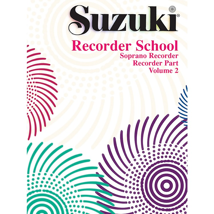 Alfred Suzuki Recorder School (Soprano Recorder) Recorder Part Volume 2