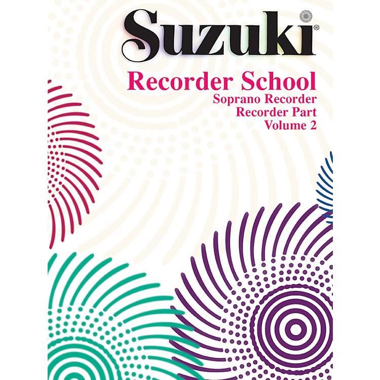 AlfredSuzuki Recorder School (Soprano Recorder) Recorder Part Volume 2