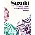Alfred Suzuki Viola School Piano Accompaniment, Volume A (contains Volumes 1 & 2) Textbook