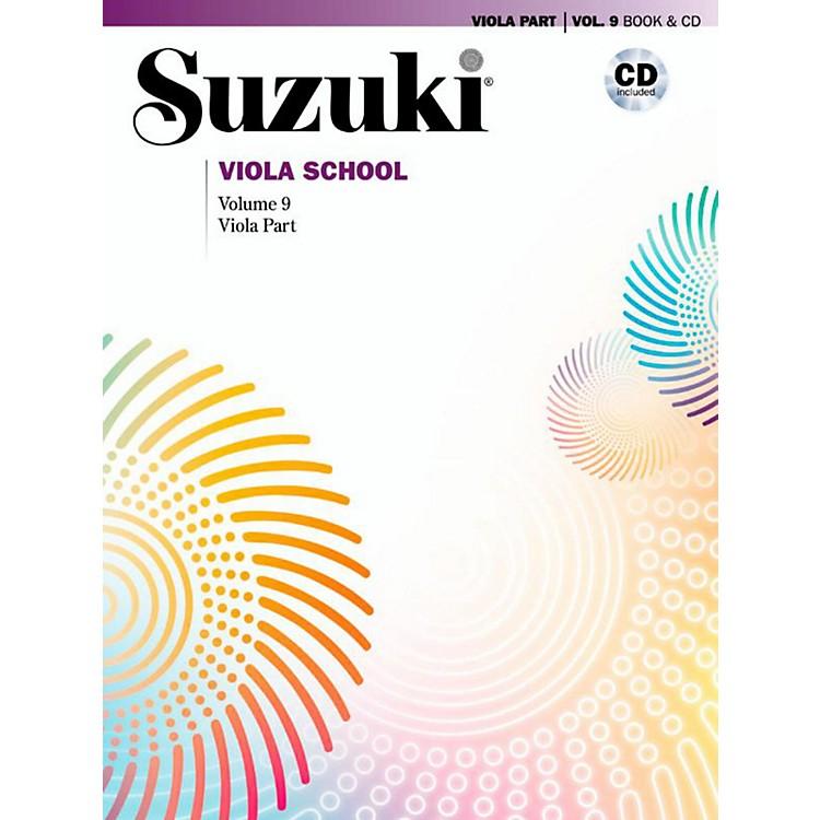 SuzukiSuzuki Viola School Viola Part Book & CD Volume 9
